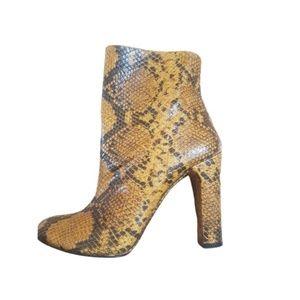 ZARA Snake Ankle Boots - 40/9